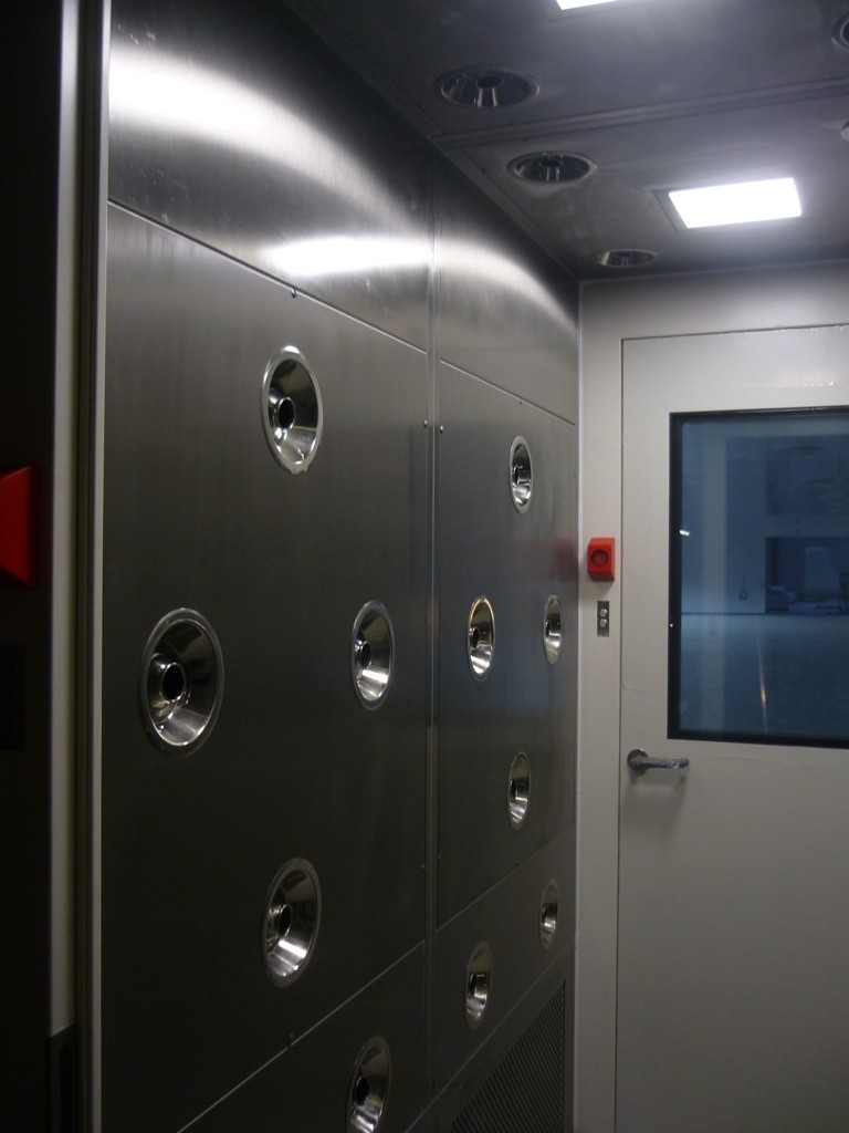 Decontamination Room Design: Cleanroom Air Shower