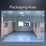 Cleanroom packaging area